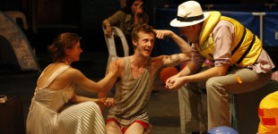 Georgie Read as The Buttonmoulder, Kyle Baxter as Peer, Josh Price as Begriffenfeldt